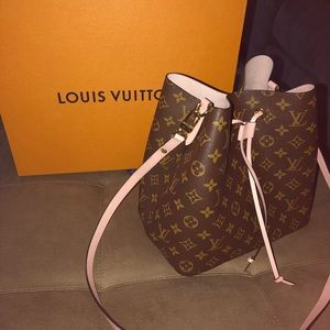 BRAND NEW Baby Pink and Brown Louis Vuitton.